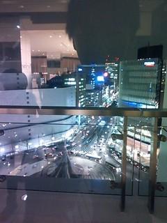 名駅 高島屋夜景